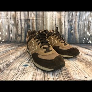 New Balance Brown Suede Sneakers Size 11½